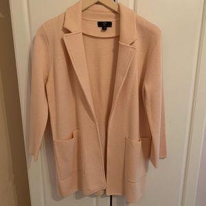 J.Crew Pink Knit Blazer Jacket